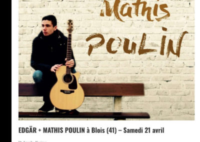 EDGÄR + MATHIS POULIN  au Chato'Do